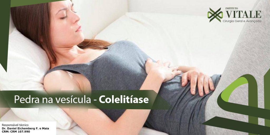 Pedra na Vesícula – Colelitíase