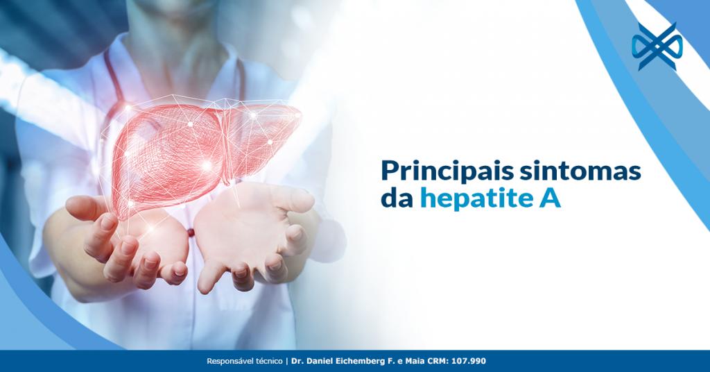 Principais sintomas da hepatite A