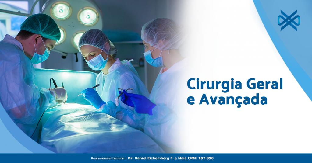 Cirurgia geral e avançada é com o Instituto Vitale